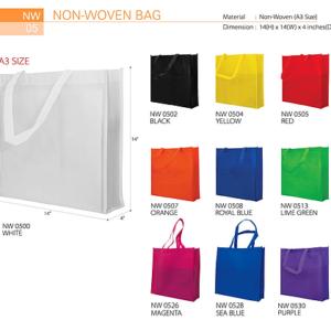 NW05 Non-Woven Bag (A3 size)